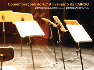 Concertos de Antigos Alunos - Beatriz Saglimbeni e Beatriz Acosta
