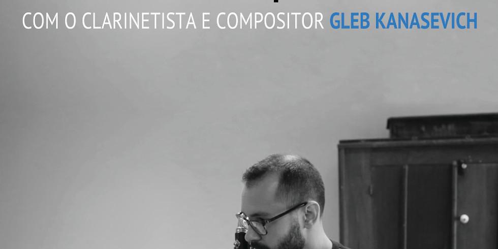Gleb Kanasevich na Escola de Música Nossa Sra. do Cabo