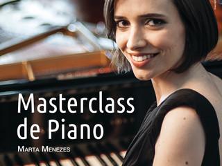 🎹 Masterclass de Piano com a pianista Marta Menezes.