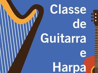 Harpas e Guitarras