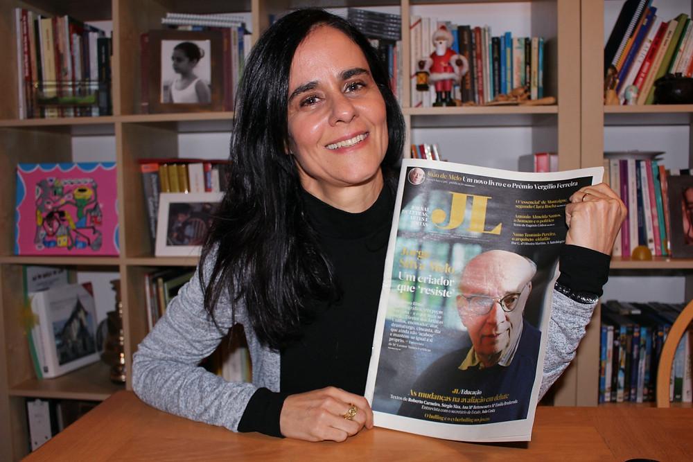 Jornal de letras, um artigo de Manuela Ferrer