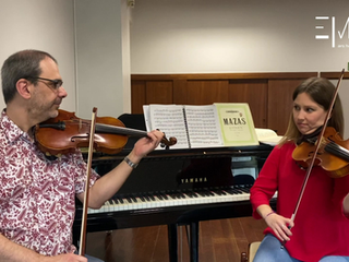 Opus 1, Scherzo para dois violinos - 9 perguntas para 2 professores