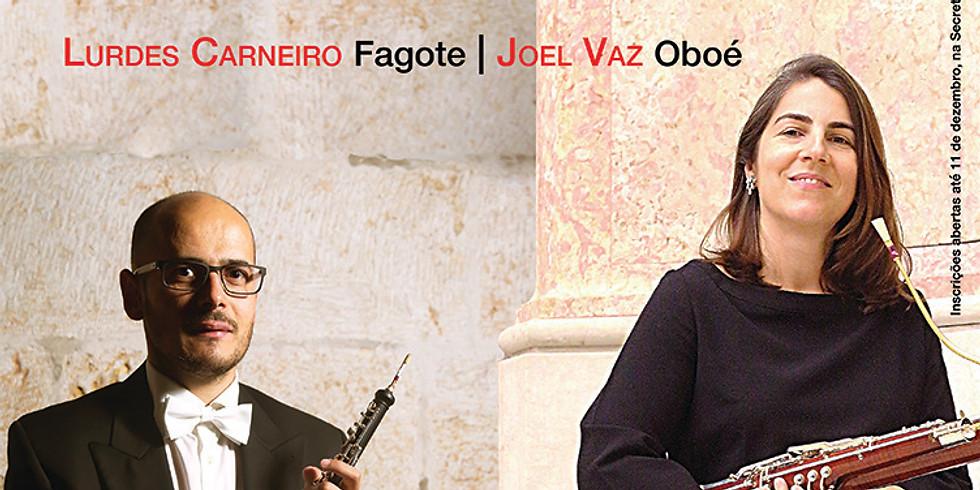 Masterclass de Fagote e Oboé | Lurdes Carneiro e Joel Vaz