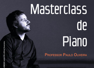 Masterclass de Piano - Professor Paulo Oliveira.
