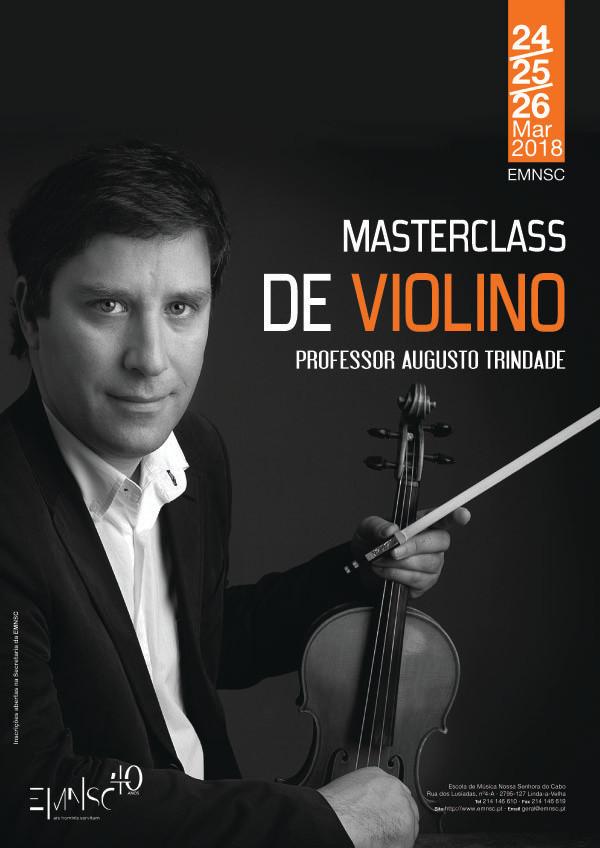 Masterclass de Violino - Professor Augusto Trindade