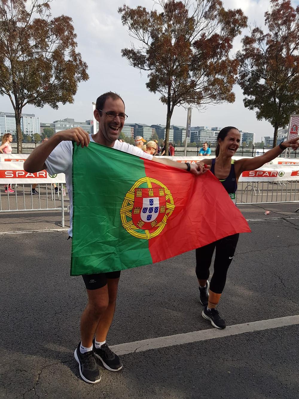 Simao Almeida, IT Senior Consultant na Maratona de Budapeste