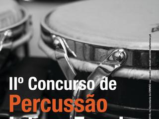 II Concurso de Percussão Inter-Escolas | Estão abertas as Inscrições