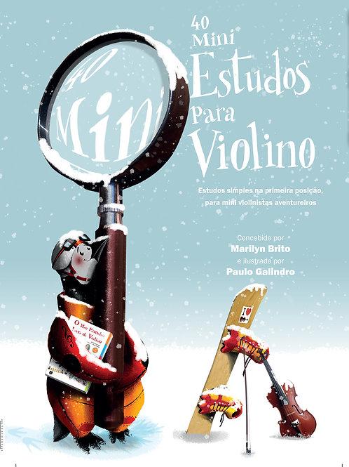 40 Mini Estudos para Violino
