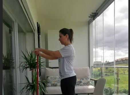 Quem fica em casa, também treina! GFD- Fisioterapia e Osteopatia