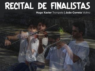 Recital de Finalistas   Hugo Xavier e João Correia