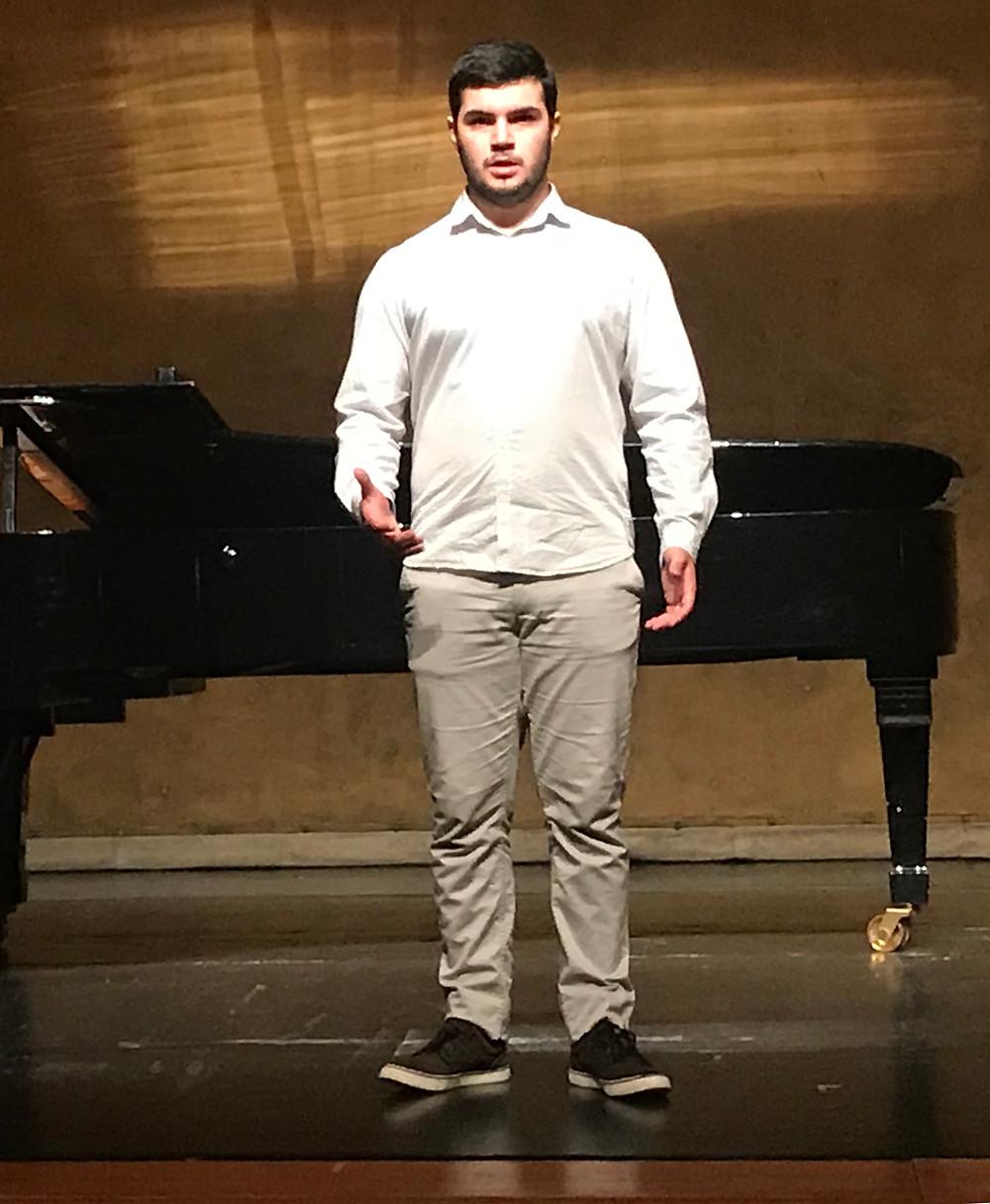 Paulo Cerqueira vence o 2º prémio de Canto em Vila Nova de Gaia