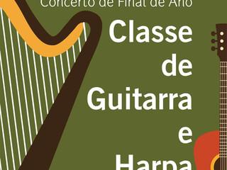 Concerto | Classe de Guitarra e de Harpa