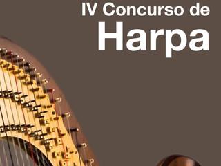 IV Concurso de Harpa | Datas e Ficha de Inscrição já disponíveis