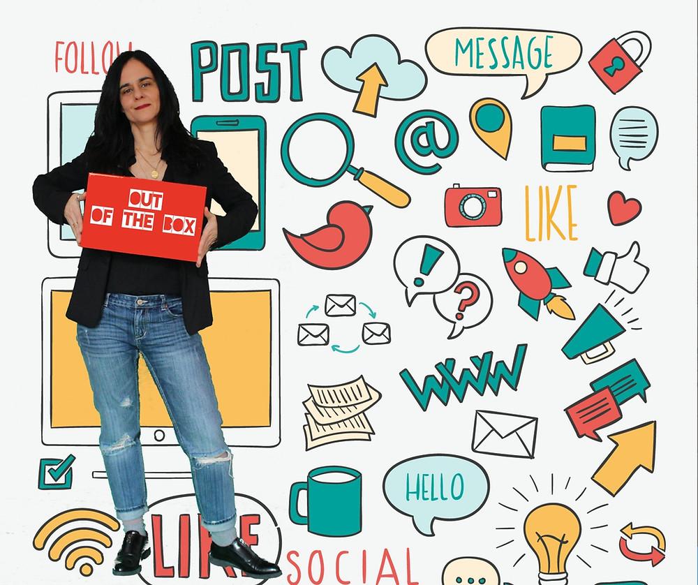 Formação em Redes Sociais, por Manuela Ferrer