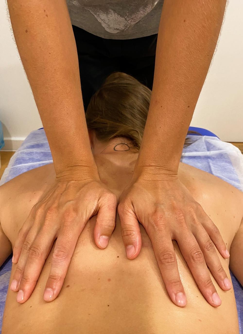 Massagem de Relaxamento no GFD Fisioterapia e Osteopatia