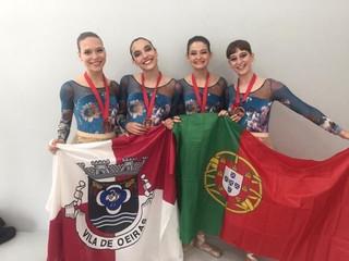 Medalha de Bronze para o quarteto de Ballet