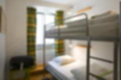 Twin Rooms in Lisbon Hostel