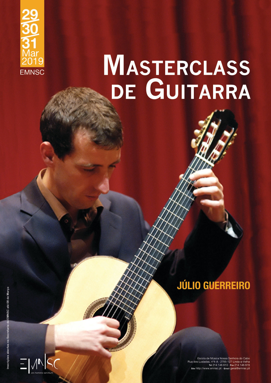 Masterclass de Guitarra com Júlio Guerreiro