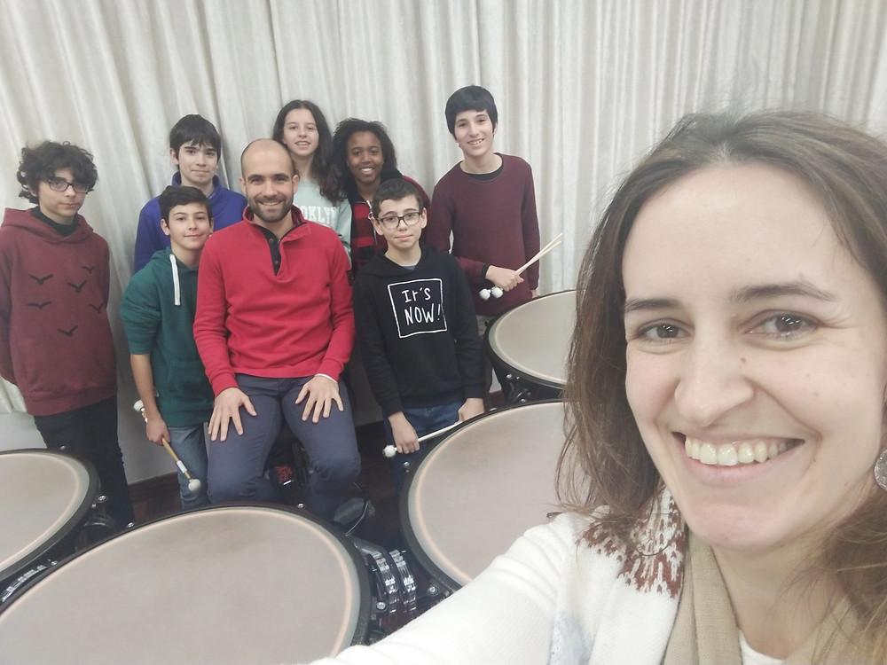 Workshop de Percussão com os novos Tímpanos!