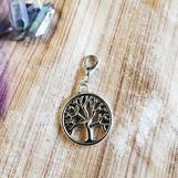 Tree of Life Circle Wishwand Charm