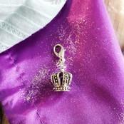 The King's Crown Wishwand Charm