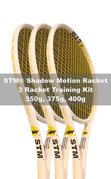 STM® 3 Racket Training Kit (350g, 375g, 400g)