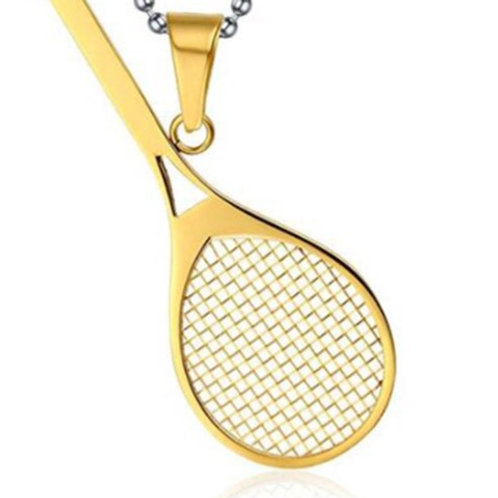 Stainless steel Gold plated necklace for him or her