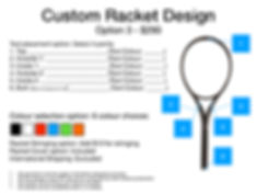 2020 Custom Racket Design options USD.00