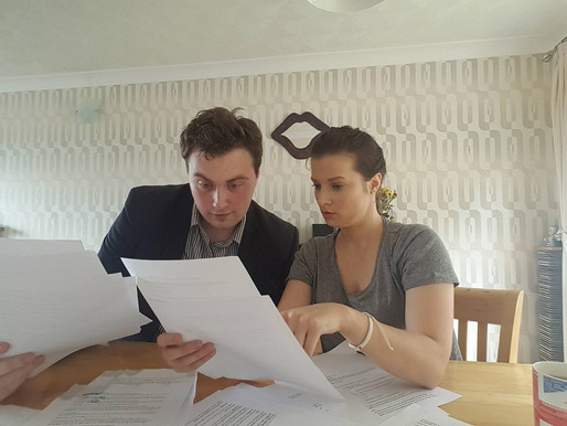 Script Reading With Sam Crawley!