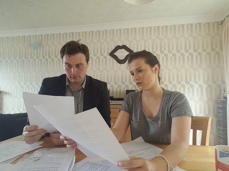 Script Reading With Sam Crawley