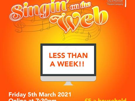 I'm Singin' On the Web!