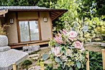 japanese tea house wedding flowers arizona
