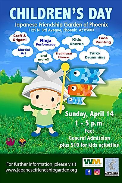 Children S Day 2019 Japanese Friendship Garden I Phoenix