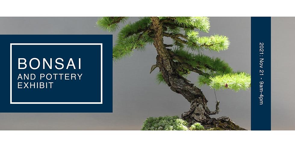 Bonsai and Pottery Exhibit 2021