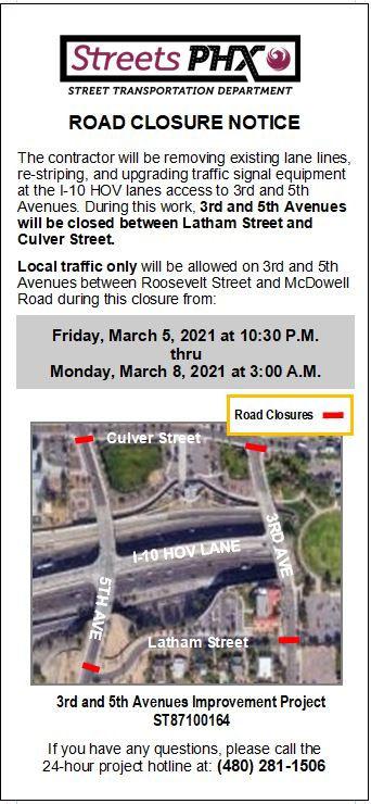 Road Closure Notice 3-5-21 - ADOT ROW 3r