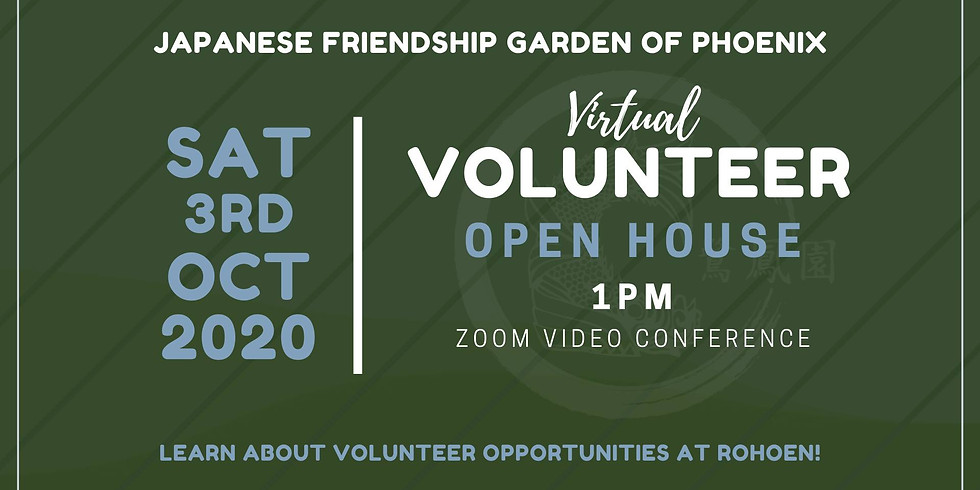Virtual Volunteer Open House