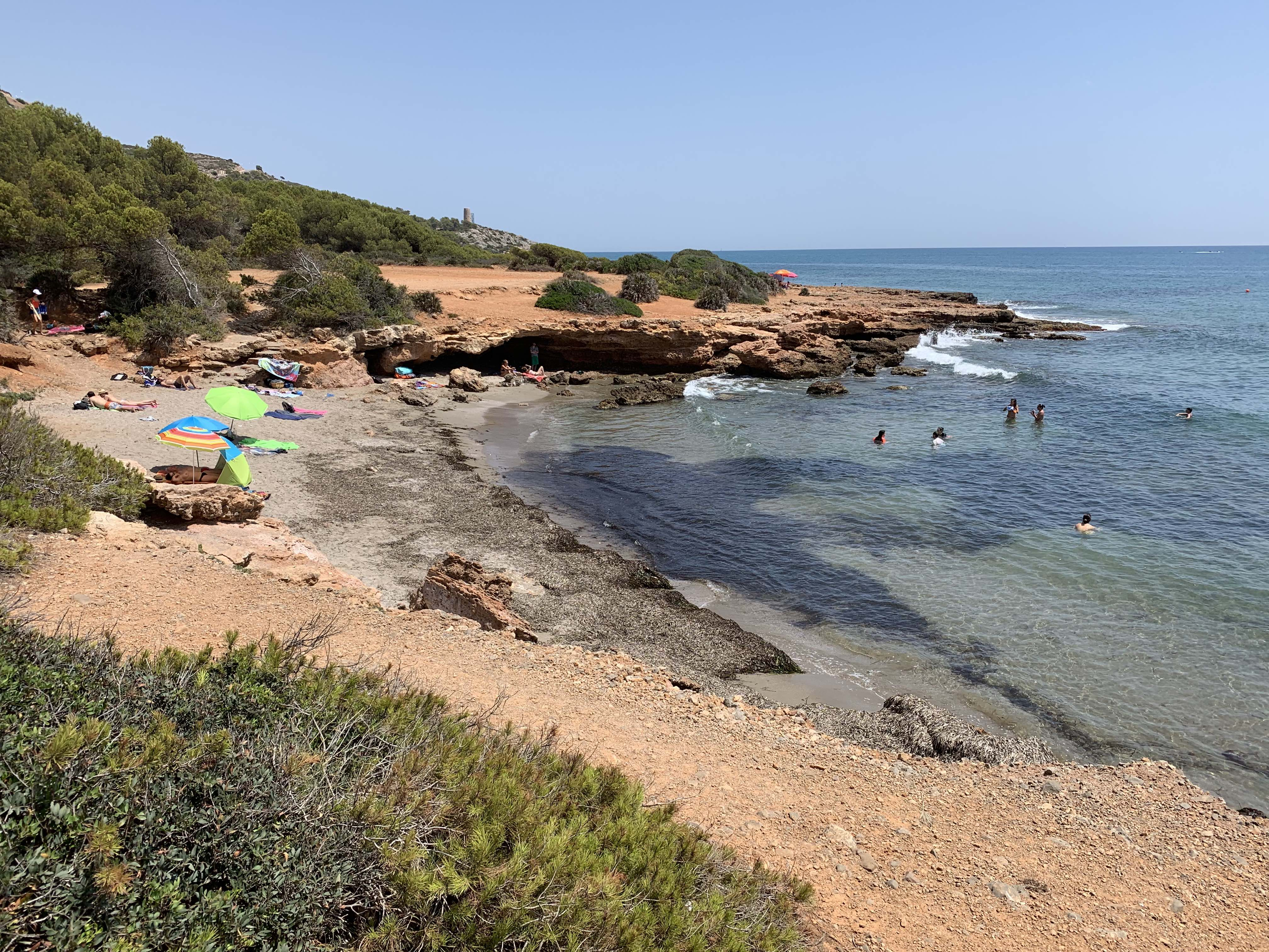 Playa pesca Santi