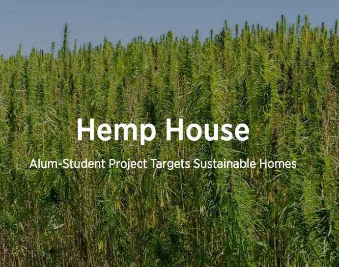 Hemp House Research Project in the News!