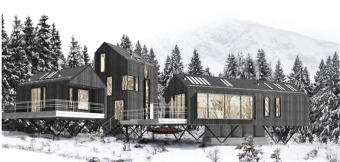 Jesse Bird Design for Prefaricated Houses