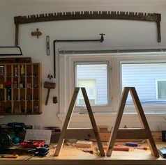 Replicating 15th century trestles
