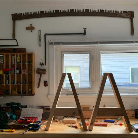 Replicating 15th century trestles