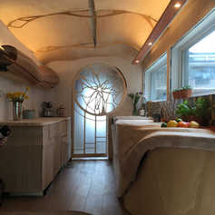 Ben Hayward Tiny House interior