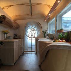 Ben Hayward Tiny House interior
