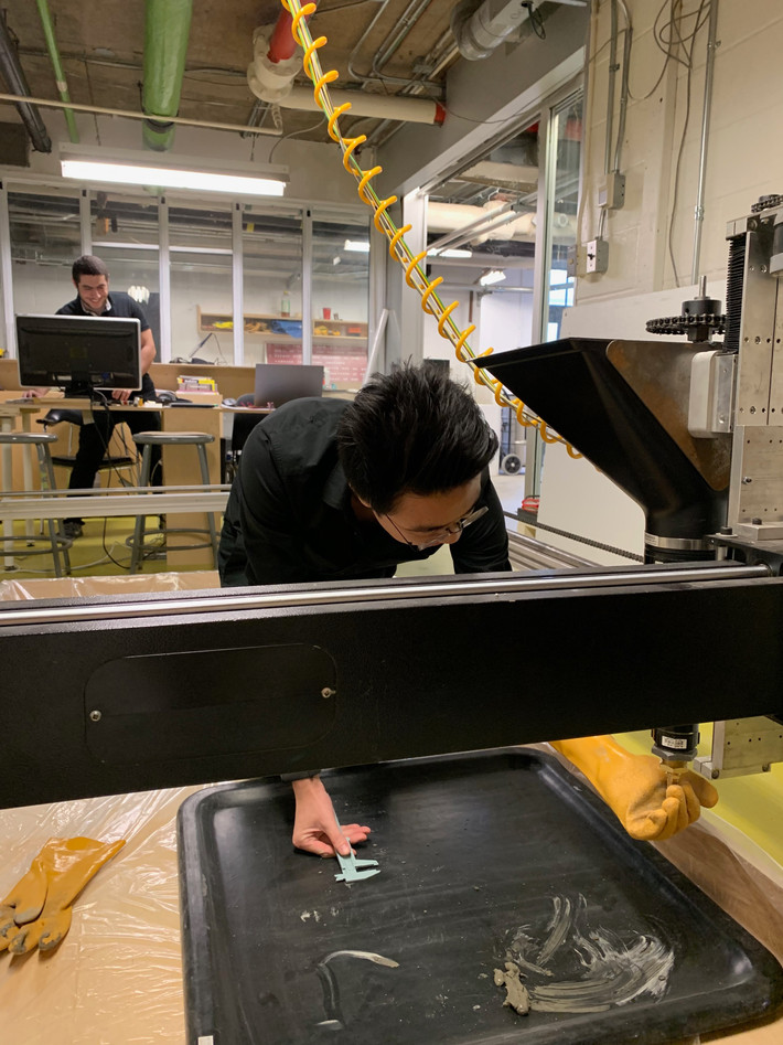 3D Printing Research Assistant joins CSALT lab