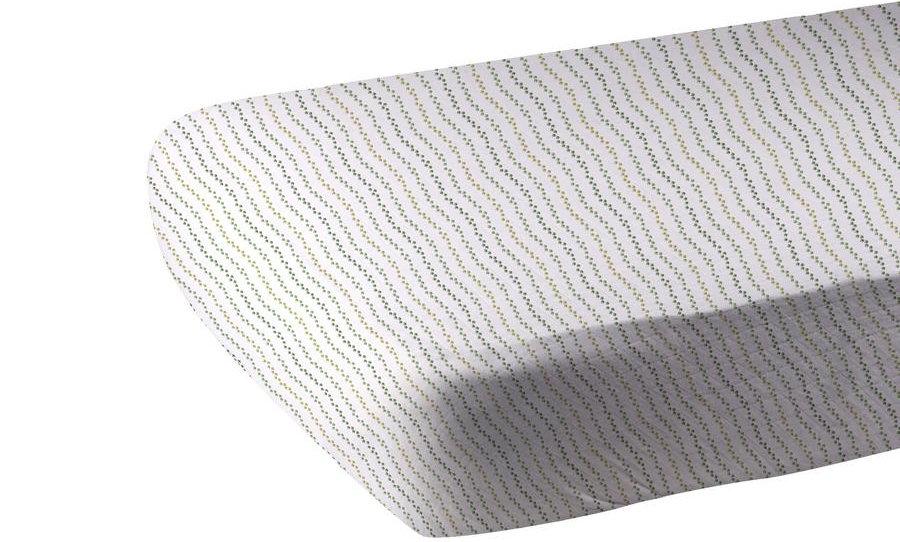 Dino Feet Cotton Muslin Crib Sheet