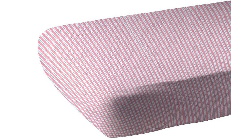 Candy Stripe Bamboo Muslin Crib Sheet