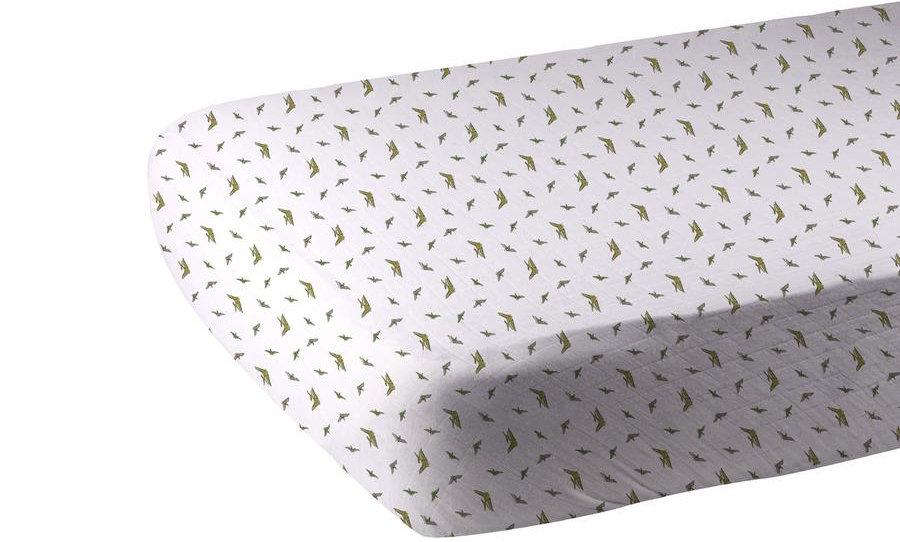 Pteranodon Cotton Muslin Crib Sheetsic Forest Cotton Muslin Crib Sheet