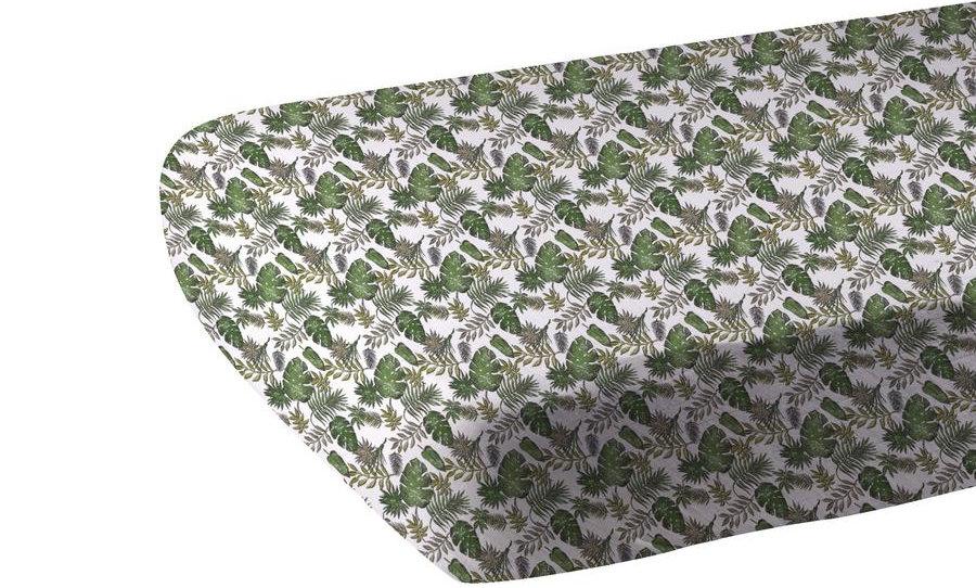 Jurassic Forest Cotton Muslin Crib Sheet