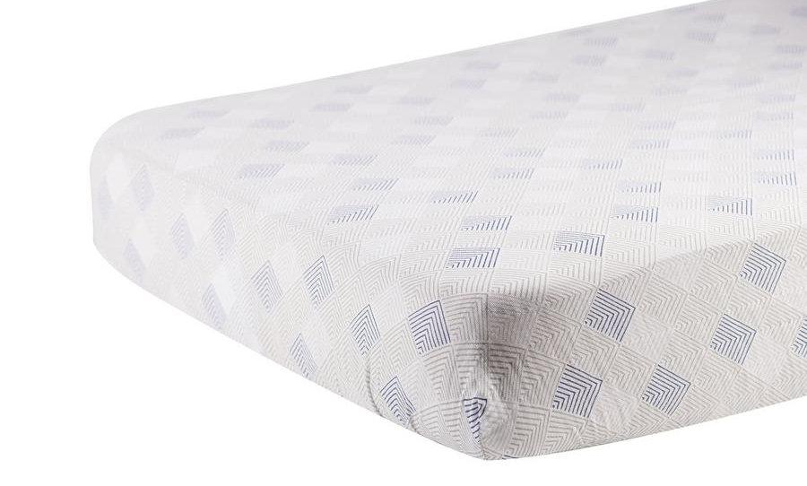 Mountain Peak Cotton Muslin Crib Sheet