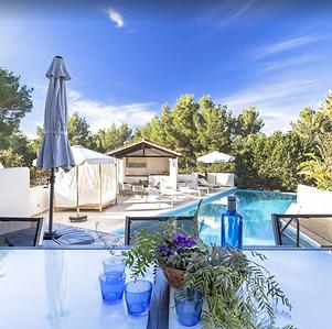 Villa Ibiza mit Pool Terasse
